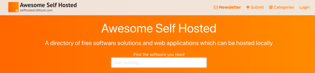 7 Great Websites to Find Self-Hosted Software 3