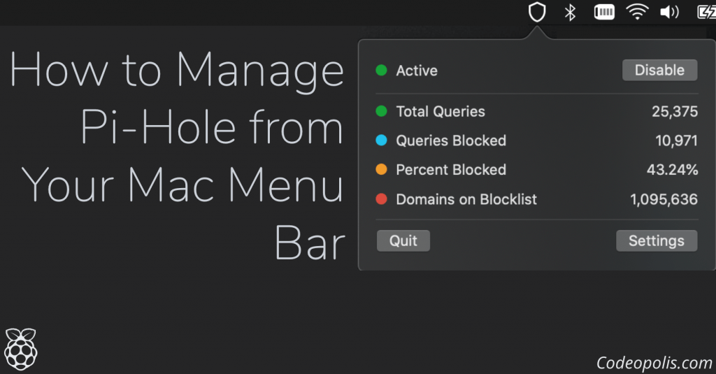 How to Manage Pi-Hole from Your Mac Menu Bar